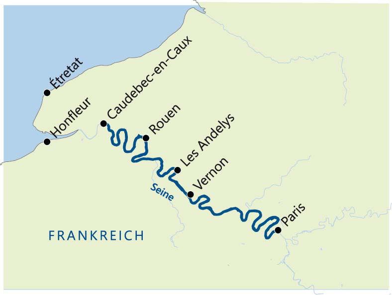 Seine Route